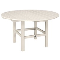 POLYWOOD RKT38SA Sand 38 inch Round Kids Dining Table