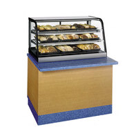 Federal CD4828SS Signature Series Black 47 inch Self Serve Countertop Dry Bakery Display Case