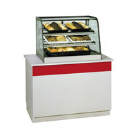 Federal CD4828 Signature Series Black 47 inch Full Service Countertop Dry Bakery Display Case