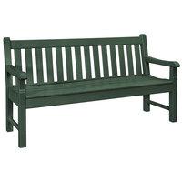 POLYWOOD RKB60GR Green 60 inch x 24 inch Rockford Bench