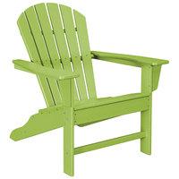 POLYWOOD SBA15LI Lime South Beach Adirondack Chair