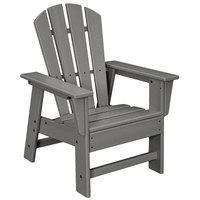 POLYWOOD SBD12GY Slate Grey Kids Casual Chair