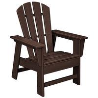 POLYWOOD SBD12MA Mahogany Kids Casual Chair