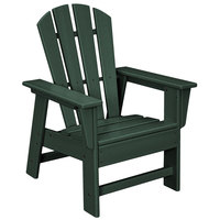 POLYWOOD SBD12GR Green Kids Casual Chair