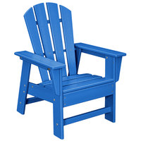 POLYWOOD SBD12PB Pacific Blue Kids Casual Chair