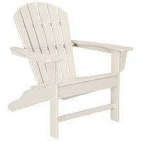 POLYWOOD SBA15SA Sand South Beach Adirondack Chair