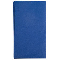 Hoffmaster 180522 Navy Blue 15 inch x 17 inch 2-Ply Paper Dinner Napkin   - 1000/Case