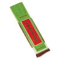 10 1/2 inch Green Melamine Chopsticks Set - 1000/Case