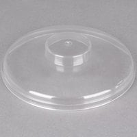 Carlisle CM103207 Clear Cold Crock Lid, Plain