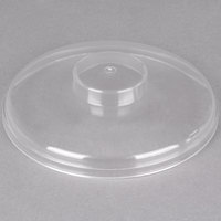 Carlisle CM103207 Clear Cold Crock Cover, Plain
