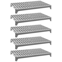 Cambro CPSK1872V5480 Camshelving® Premium Series Stationary Shelf Kit with 5 Vented Shelves - 72 inch x 18 inch