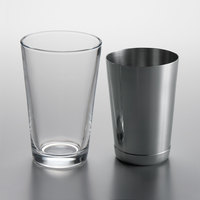 2-Piece Boston Shaker Cocktail Starter Set with 14 oz. Mixing Glass and 15 oz. Stainless Steel Shaker