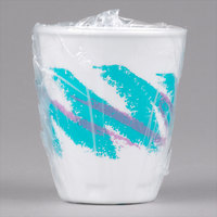 Solo WX9-64568 Trophy Plus Hotel and Motel 9 oz. Individually Wrapped Hot / Cold Cup with Jazz Design   - 900/Case
