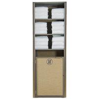 Grosfillex US170599 Sunset Bronze Single Unit Towel Valet