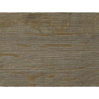 Grosfillex US24D742 Exterior Vanguard 24 inch x 32 inch Aged Oak Outdoor Table Top