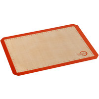 Mercer Culinary M31093OR Half Size Orange Silicone Baking Mat