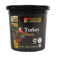 Custom Culinary 1 lb. Turkey Base Paste