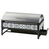 Cal-Mil 4016-85 Granada Full Size Chafer with Stainless Steel Cover - 22 inch x 14 inch x 12 1/4 inch