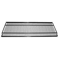 True 909172 Black Coated Wire Shelf with Shelf Clips - 31 3/4 inch x 12 3/8 inch