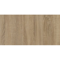 Grosfillex US60VG76 VanGuard 30 inch x 60 inch Natural Oak Touch Resin Indoor Table Top