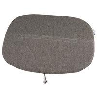Grosfillex US149713 Ramatuelle '73 Gray Seat Cushion - 4/Pack