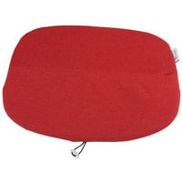 Grosfillex US149712 Ramatuelle '73 Red Seat Cushion - 4/Pack
