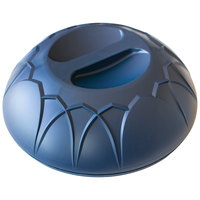 Dinex DX540050 Fenwick Midnight Blue Insulated Meal Delivery Dome for 9 inch Plate - 12/Case