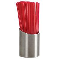 Cal-Mil 4302 Stainless Steel Stir Stick Straw Holder - 2 inch x 2 3/4 inch