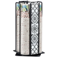 Cal-Mil 4017-85 Granada 4-Section Revolving Cup and Lid Organizer