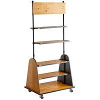 Cal-Mil 3740-99 Madera Rustic Pine Freestanding Merchandiser
