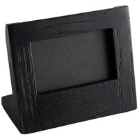Cal-Mil 3818-23-87 Cinderwood 3 inch x 2 inch Chalkboard Stand with Black Chalkboard
