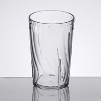 Dinex DX4GC807 8 oz. Clear Swirl SAN Tumbler - 72/Case