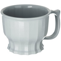 Dinex DX9000B23 Tropez 8 oz. Graphite Grey High-Heat Mug - 48/Case