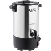 Avantco CU30ETL 32 Cup (160oz) Single Wall Stainless Steel Coffee Urn/Coffee Percolator - 950W
