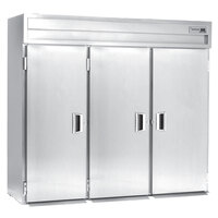 Delfield SMRRI3-S 113.28 Cu. Ft. Three Section Solid Door Roll In Refrigerator - Specification Line