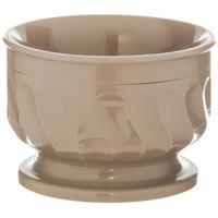 Dinex DX320031 Turnbury 5 oz. Latte Insulated Bowl with Pedestal Base - 48/Case