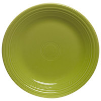 Homer Laughlin 464332 Fiesta Lemongrass 7 1/4 inch Salad Plate - 12/Case