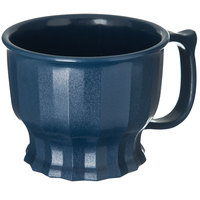 Dinex DX9000B50 Tropez 8 oz. Midnight Blue High-Heat Mug - 48/Case