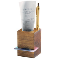 Cal-Mil 3734-99 Madera Rustic Pine Restaurant Receipt Holder