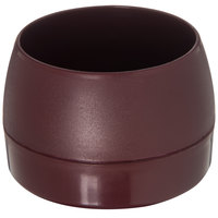 Dinex DX110561 Classic 5 oz. Cranberry Stackable Insulated Bowl - 48/Case