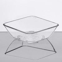 Dinex DXSB607 6 oz. Clear Square SAN Plastic Bowl - 96/Case