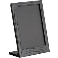 Cal-Mil 3818-811-87 Cinderwood 8 1/2 inch x 11 inch Chalkboard Stand with Black Chalkboard