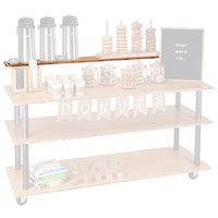 Cal-Mil 3698-4-60SHELF Bamboo U-Build Top Shelf - 48 inch x 8 inch x 9 inch