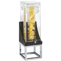 Cal-Mil 3804-3INF-87 Cinderwood 3 Gallon Beverage Dispenser with Infusion Chamber - 8 inch x 8 inch x 26 inch