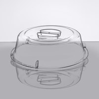 Dinex DXEC0907 9 inch Clear Dome Entree Cover for DXCBE23 Cool Base - 12/Case