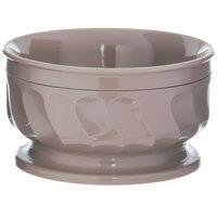Dinex DX330031 Turnbury 9 oz. Latte Insulated Bowl with Pedestal Base - 48/Case