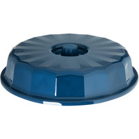 Dinex DX9400B50 Tropez Dark Blue High-Heat Convection Dome for 9 inch Round Plate - 12/Case