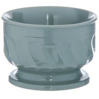 Dinex DX320084 Turnbury 5 oz. Sage Insulated Bowl with Pedestal Base - 48/Case