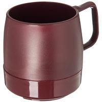 Dinex DX119761 Classic 8 oz. Cranberry Stackable Insulated Mug - 48/Case