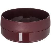 Dinex DX118661 Classic 12 oz. Cranberry Stackable Bowl - 48/Case